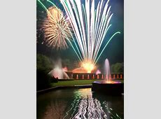 Longwood Gardens Hosts Its Final Two Fireworks And