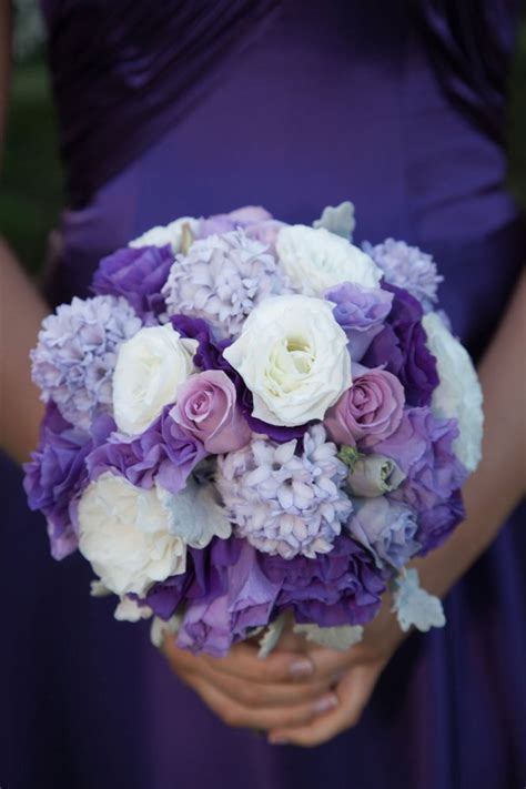 purple wedding flowers tesselaar flowers