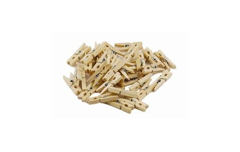 mini 233 pingles 224 linge en bois scolart