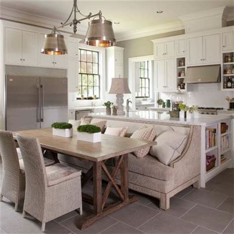 kitchen island with table attached pin by sheli o neal on for the home pinterest