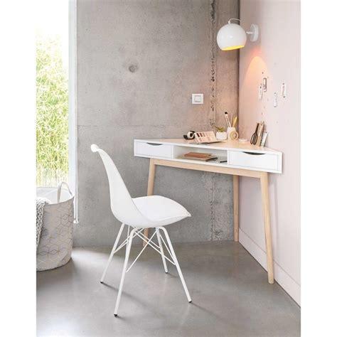 Corner Bedroom Bureau by Bureau D Angle Vintage Blanc Maisons Du Monde