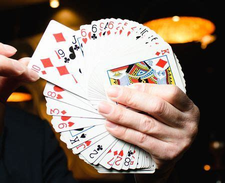 awesome easy card shuffling tricks pics  images