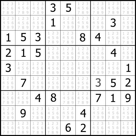 Sudoku Free Printable