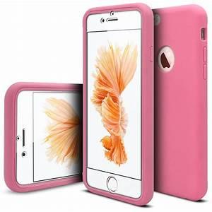 Coque Rose Iphone 6 : coque antichoc 360 ultimate touch gel apple iphone 6 6s rose ~ Teatrodelosmanantiales.com Idées de Décoration