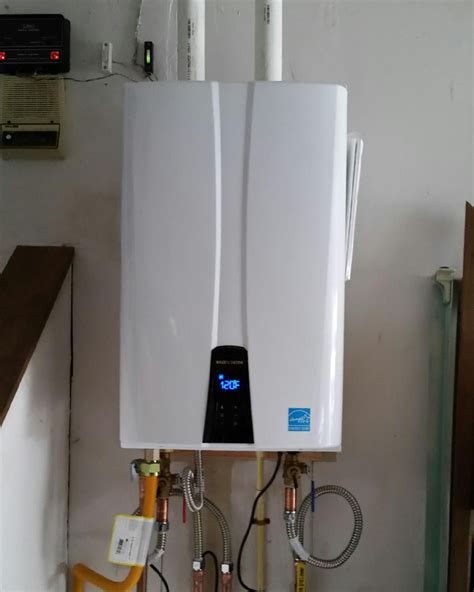 Tankless Water Heater #navien  Duggan's Mechanical 705
