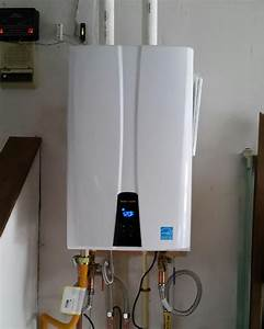 Tankless Water Heater  Navien