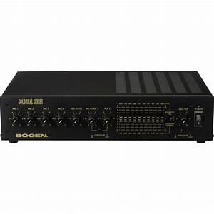 Bogen Communications Gs150d Gold Seal Series Amplifier