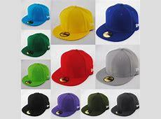NEW ERA 59fifty PLAIN CAP HAT 5950 ROYAL, BLACK, RED eBay