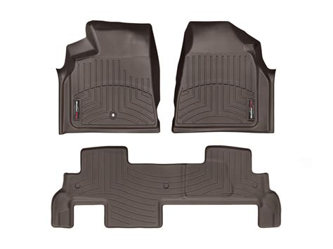 Chevy Traverse Floor Mats by Weathertech Floor Mats Floorliner For Chevy Traverse W
