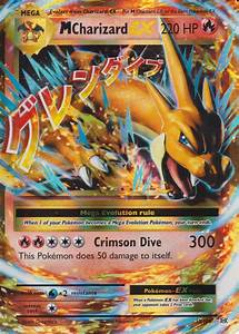 Pokemon Card: Mega M CHARIZARD EX 13/108 XY Evolutions ...