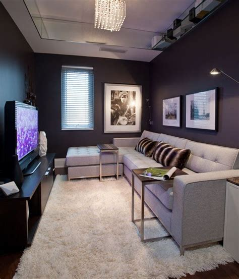 Home Den Design Ideas by Small Space Interior Living In 2019 Media Room