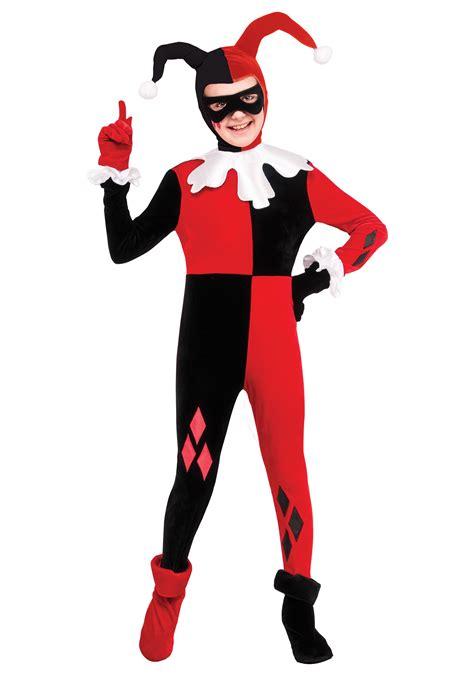 harley quinn jumpsuit costume child harley quinn jumpsuit costume