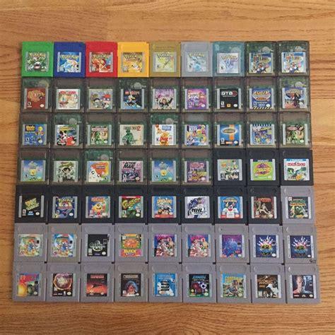 Gameboy Color Games Pokemon Mario Zelda Tmnt Kirby Pacman