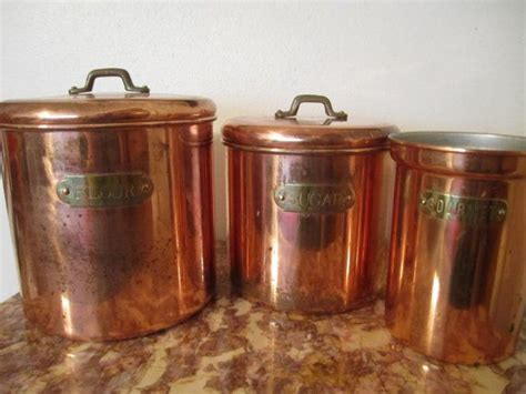 copper canisters kitchen copper canisters copper copper kitchen