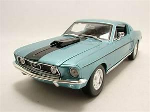 Modellauto Ford Mustang : ford mustang gt cobra jet fastback 1968 blau metallic ~ Jslefanu.com Haus und Dekorationen