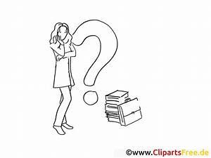 Fragezeichen Clipart Ausmalbild Kostenlos