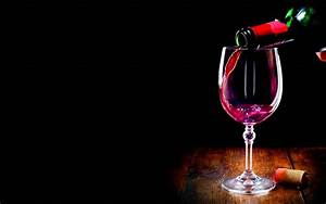 red wine bottle and glass wallpaper | Bottle Idea
