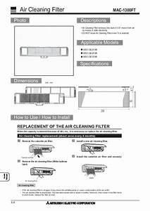 Mitsubishi 2009 Air Conditioner Optional Parts Manual