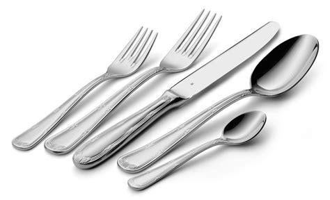 wmf crossband stainless steel flatware set  piece cutlery