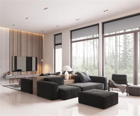 minimalist home design  muted color  scandinavian interior