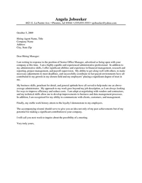 Administrative Assistant Cover Letter Sle by Administrative Assistant Resume Cover Letter Http