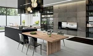 Modern kitchen designs 2018 design decoration for Kitchen cabinet trends 2018 combined with christmas tree shop wall art