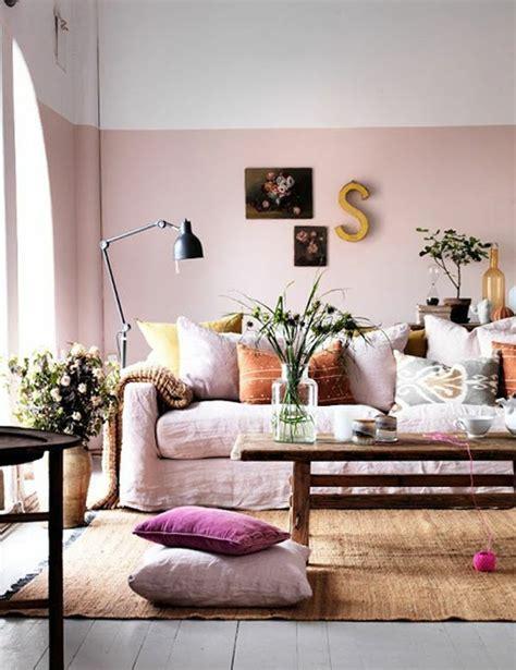 Rosa Wandfarbe Wohnzimmer Knutdcom