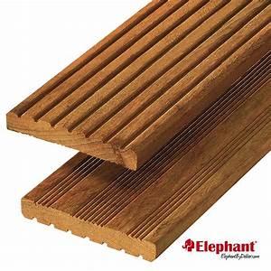 Lame De Bois Pour Terrasse : lame terrasse garapa 180 x 14 5 ~ Premium-room.com Idées de Décoration