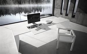 Weißer Hochglanz Schreibtisch : schreibtisch commentor exklusiver schreibtisch von rechteck ~ Frokenaadalensverden.com Haus und Dekorationen