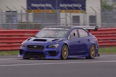 Subaru Wrx Sti Type Ra Nbr Special Will Attempt To Set A