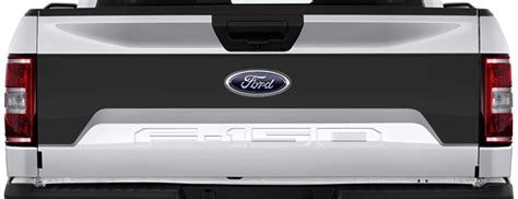 ford   tailgate mid blackout vinyl decal graphic