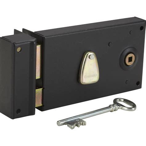 serrure de portillon exterieur serrure monopoint 224 appliquer thirard axe 58mm poign 233 e gauche leroy merlin