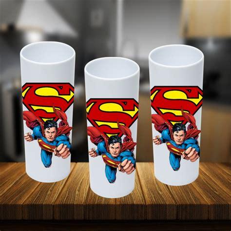 Copo Long Drink Super Homem no Elo7 Brl Flex Festas (B713F2)
