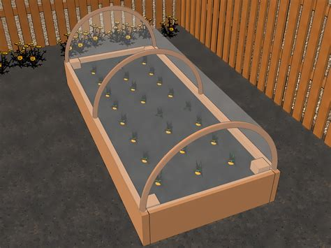 Ways To Construct A Raised Planting Bed Wikihow
