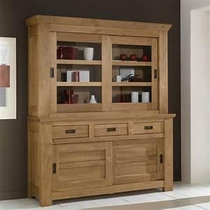 Bibliotheque Bois Clair : vaisselier de gaspard petit mod le meubles de normandie ~ Teatrodelosmanantiales.com Idées de Décoration