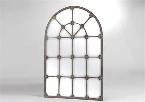 miroir en fer forg 233 gris grande demeure