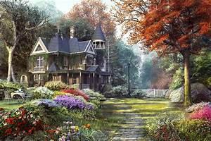 Victorian Garden by Dominic Davison - 3D Artist
