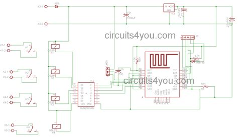 Iot Based Home Automation Project Circuitsyou