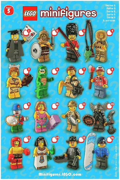 http lego brickinstructions en lego instructions set 8805 lego minifigures series 5