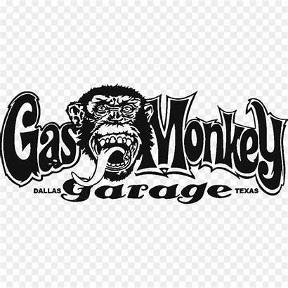 Monkey Gas Garage Bar Grill Stickers Transparent