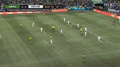 Timbers Portland 93rd Sounders Ruidiaz Goal Seattle