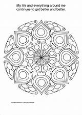 Coloring Mandala Therapy Adult Healing Pages Mandalas Relaxing Printable Colouring Etsy Meditation Adults Books Pdf Von Therapeutic Colorear Para Painting sketch template