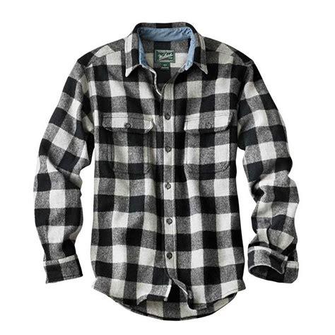 white  black buffalo plaid shirt   totally wear