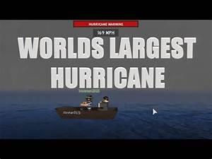 Worlds Largest Hurricane! | Hurricane Simulation | With ...
