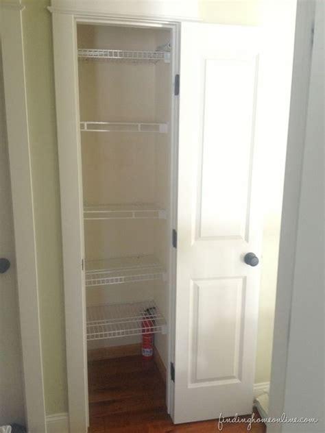 Small Narrow Closet Organization Ideas by Tips For Organizing A Small Linen Closet Organization