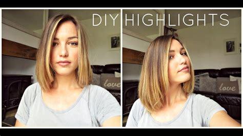diy   home ombrebalayagehighlights blonde tutorial