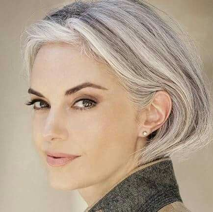 silver hair styles are opting to go grey in their 30 s it works 9761