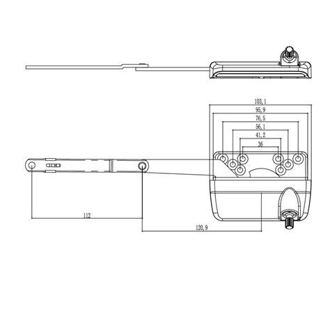 window cranked arm operator casement accessories aluminum window awning operator buy automatic
