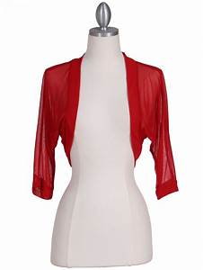 Red Spanx Size Chart Red Bolero Jacket Sung Boutique L A