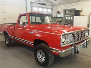 1978 Dodge Short Wide 4x4 1  2 Ton Power Wagon